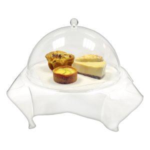 acrylic dessert tray
