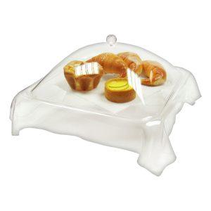 cover dessert tray
