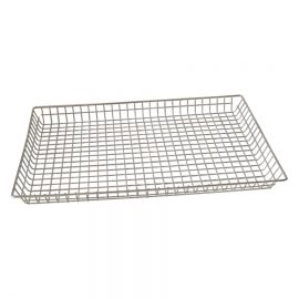 shallow wire basket
