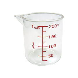 acrylic measuring cup