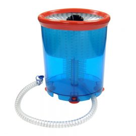 glass washer brush bucket