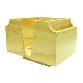 wood bar caddy